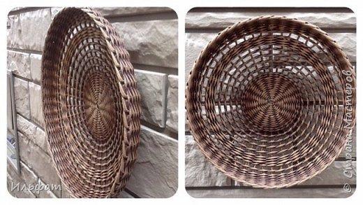 Тарелки панно диаметр 38-40 см глубина 6-7 см фото 2