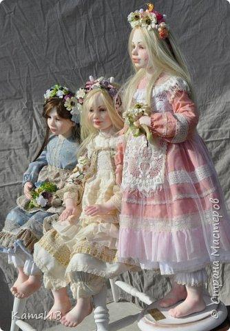 """Кукла Тимкаевой Елены  """"Таисия"""" фото 3"""