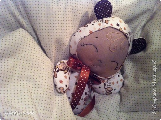 Куклы Мастер-класс Шитьё Сплюшка Мастер-класс Ткань фото 32