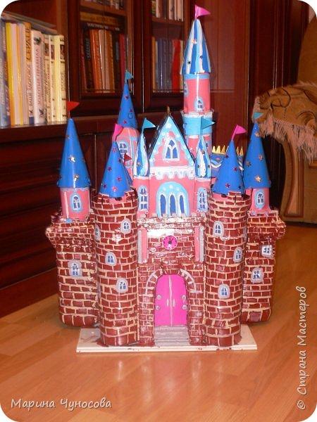 конструирование Замок из