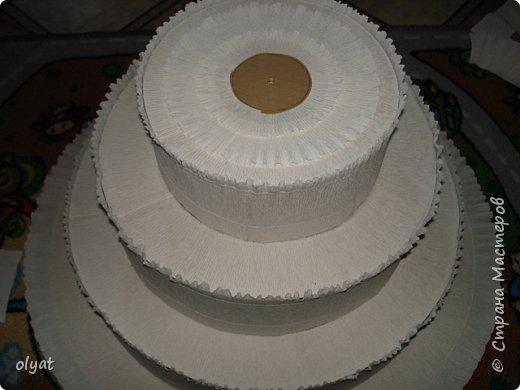 Добрый день! Хочу поделиться с Вами как я делала такой тортик. Сначала казалось, что всё просто, но никак не могла понять с чего начать. Поэтому решила фотографировать процесс, может кому-то пригодится. фото 16