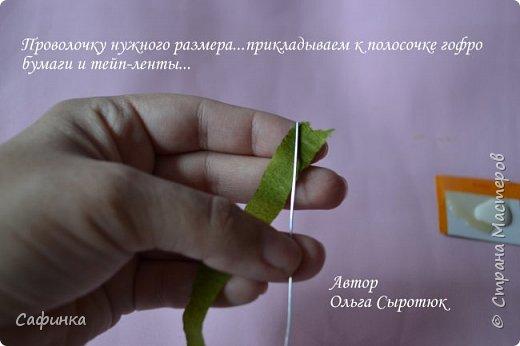 Приветик Всем, мои дорогие ...И снова с Вами, я Ольга Сыротюк...Решила создать продолжение Мк по гербере... Итак, по просьбам моих читательниц, сегодня мы с Вами будем делать стебель с листвой для герберы... В данном Мк вы узнаете... 1.Один из способов ..формирования  стебля.... 2.Научитесь Правильно обрабатывать листья.... 3.Тонировать... 4.Узнаете подробности сборки стебля с листвой герберы... 5.Выкройки шаблонов листа и подклейки прилагаются... И так, вдохновились? Есть желание по творить? Предлагаю присоединится.....  фото 24