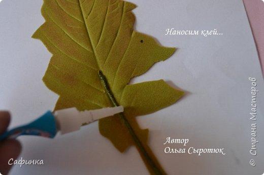Приветик Всем, мои дорогие ...И снова с Вами, я Ольга Сыротюк...Решила создать продолжение Мк по гербере... Итак, по просьбам моих читательниц, сегодня мы с Вами будем делать стебель с листвой для герберы... В данном Мк вы узнаете... 1.Один из способов ..формирования  стебля.... 2.Научитесь Правильно обрабатывать листья.... 3.Тонировать... 4.Узнаете подробности сборки стебля с листвой герберы... 5.Выкройки шаблонов листа и подклейки прилагаются... И так, вдохновились? Есть желание по творить? Предлагаю присоединится.....  фото 26
