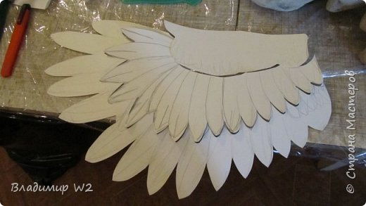 Крылья ворона своими руками