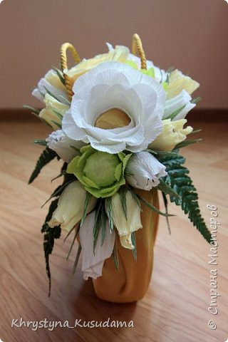 творческий експеримент - сумка, цветовая гамма, хризантемы и шарики фото 8
