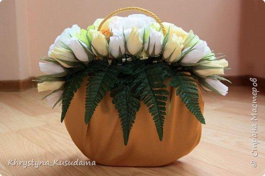 творческий експеримент - сумка, цветовая гамма, хризантемы и шарики фото 5