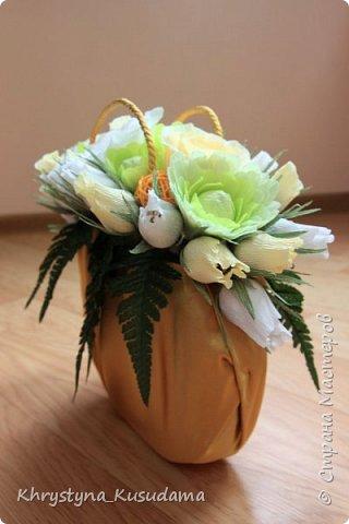 творческий експеримент - сумка, цветовая гамма, хризантемы и шарики фото 6