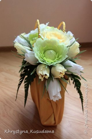 творческий експеримент - сумка, цветовая гамма, хризантемы и шарики фото 9