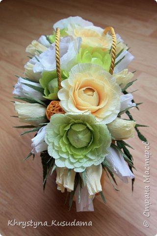 творческий експеримент - сумка, цветовая гамма, хризантемы и шарики фото 1