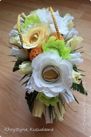 творческий експеримент - сумка, цветовая гамма, хризантемы и шарики фото 2
