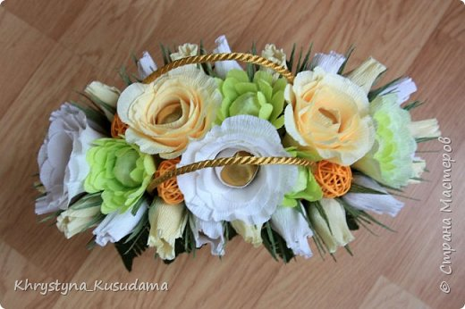 творческий експеримент - сумка, цветовая гамма, хризантемы и шарики фото 4