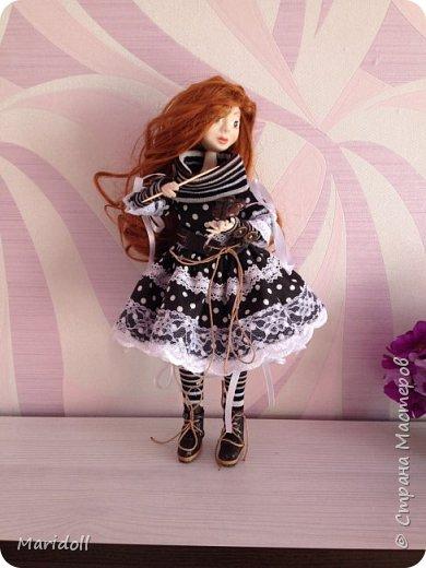 Куклы Мастер-класс Лепка Шитьё Кукла в смешанной технике Пластика Проволока фото 7