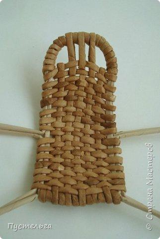 Кукольная жизнь Мастер-класс Плетение Стульчик Трубочки бумажные фото 11