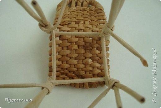 Кукольная жизнь Мастер-класс Плетение Стульчик Трубочки бумажные фото 15