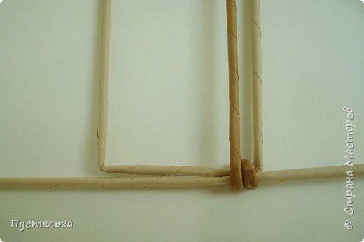 Кукольная жизнь Мастер-класс Плетение Стульчик Трубочки бумажные фото 3