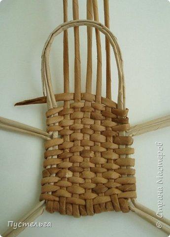 Кукольная жизнь Мастер-класс Плетение Стульчик Трубочки бумажные фото 9