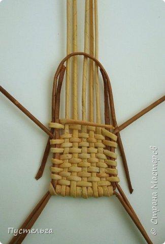 Кукольная жизнь Плетение Кресло-качалка Трубочки бумажные фото 4