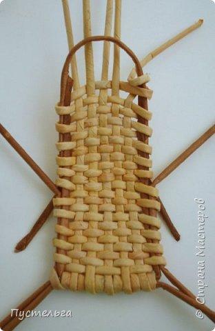 Кукольная жизнь Плетение Кресло-качалка Трубочки бумажные фото 5