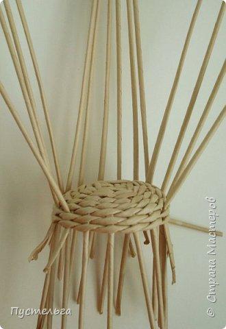 Кукольная жизнь Плетение Кресло Трубочки бумажные фото 5