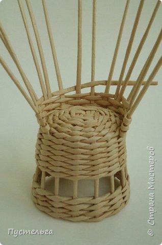 Кукольная жизнь Плетение Кресло Трубочки бумажные фото 8