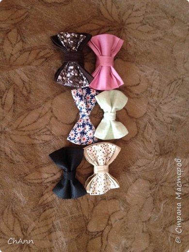 Галстук-бабочка и как я делаю ремешок для них фото 1