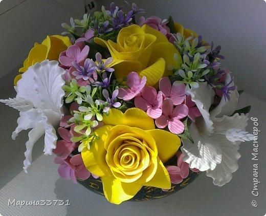 Цветочная композиция фото 2
