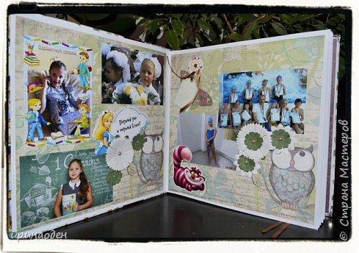 """школьный альбом""""в стране чудес"""" фото 4"""