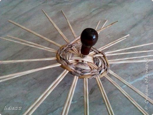 Мастер-класс Поделка изделие Плетение котошар и мк по подставке Трубочки бумажные фото 4