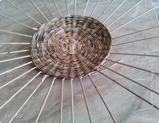Мастер-класс Поделка изделие Плетение котошар и мк по подставке Трубочки бумажные фото 7
