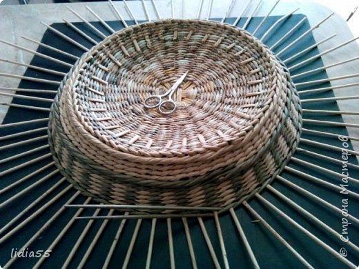 Мастер-класс Поделка изделие Плетение котошар и мк по подставке Трубочки бумажные фото 17
