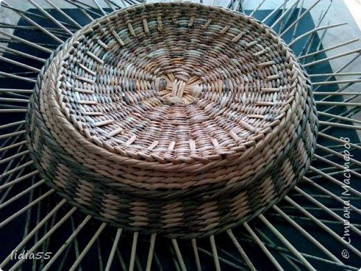 Мастер-класс Поделка изделие Плетение котошар и мк по подставке Трубочки бумажные фото 18