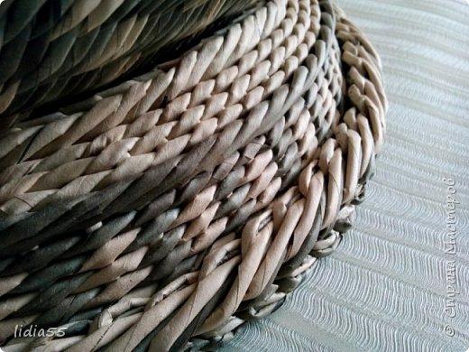 Мастер-класс Поделка изделие Плетение котошар и мк по подставке Трубочки бумажные фото 26