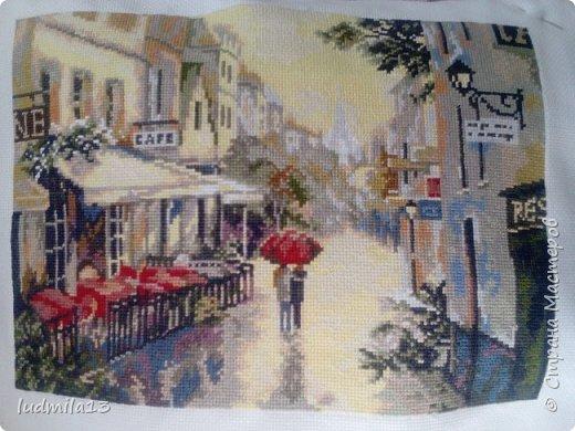 Париж. После дождя