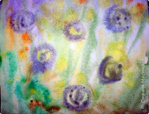 Картина панно рисунок Мастер-класс Рисование и живопись Одуванчики акварелью и не только Ч 2 Акварель Бумага фото 6