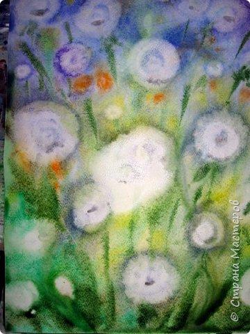 Картина панно рисунок Мастер-класс Рисование и живопись Одуванчики акварелью и не только Ч 2 Акварель Бумага фото 10