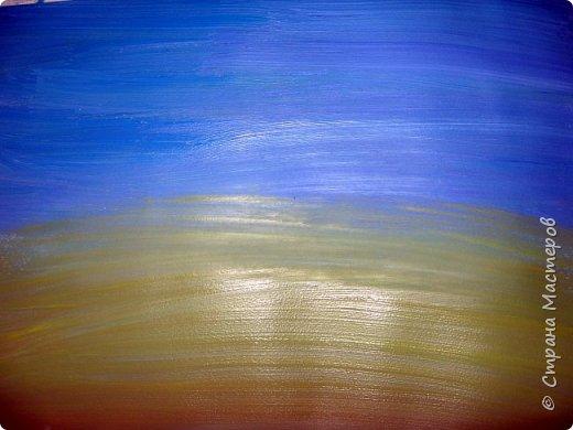Картина панно рисунок Мастер-класс Рисование и живопись Одуванчики гуашью Ч 1 Бумага Гуашь фото 2