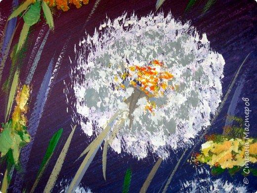 Картина панно рисунок Мастер-класс Рисование и живопись Одуванчики гуашью Ч 1 Бумага Гуашь фото 25