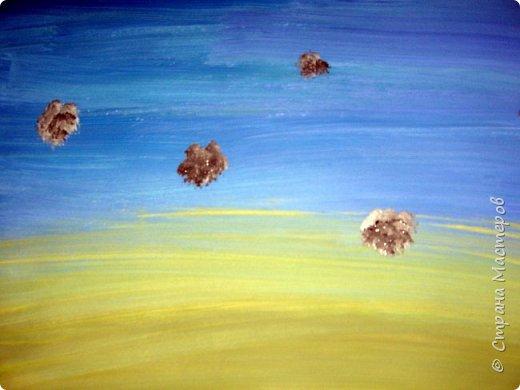 Картина панно рисунок Мастер-класс Рисование и живопись Одуванчики гуашью Ч 1 Бумага Гуашь фото 3