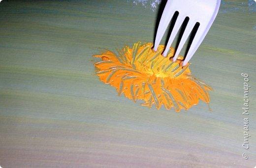 Картина панно рисунок Мастер-класс Рисование и живопись Одуванчики гуашью Ч 1 Бумага Гуашь фото 13