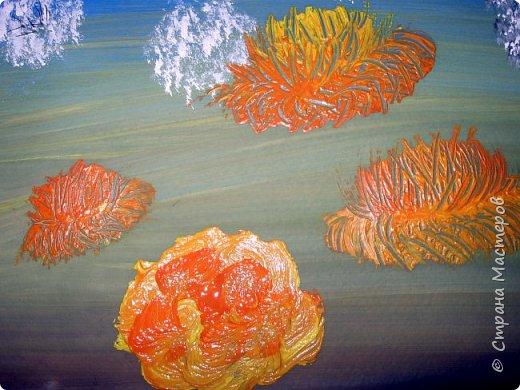 Картина панно рисунок Мастер-класс Рисование и живопись Одуванчики гуашью Ч 1 Бумага Гуашь фото 15