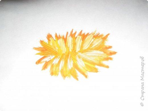 Картина панно рисунок Мастер-класс Рисование и живопись Одуванчики гуашью Ч 1 Бумага Гуашь фото 30