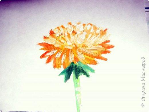 Картина панно рисунок Мастер-класс Рисование и живопись Одуванчики гуашью Ч 1 Бумага Гуашь фото 31