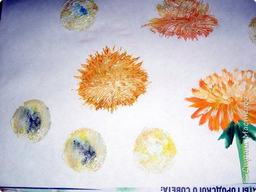 Картина панно рисунок Мастер-класс Рисование и живопись Одуванчики гуашью Ч 1 Бумага Гуашь фото 33