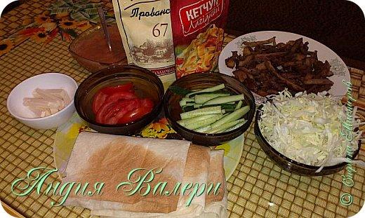 Кулинария Мастер-класс Рецепт кулинарный Домашняя шаурма + МК Продукты пищевые фото 3