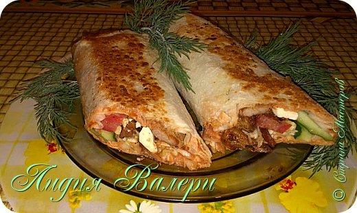 Кулинария Мастер-класс Рецепт кулинарный Домашняя шаурма + МК Продукты пищевые фото 1