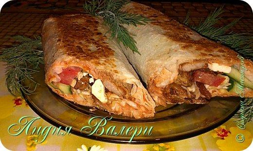 Кулинария Мастер-класс Рецепт кулинарный Домашняя шаурма + МК Продукты пищевые фото 2