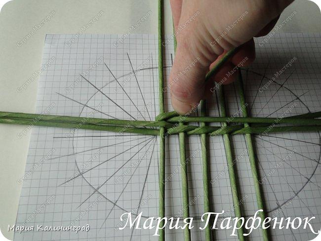 Мастер-класс Поделка изделие Плетение Овальное дно мастер класс Бумага газетная Трубочки бумажные фото 12