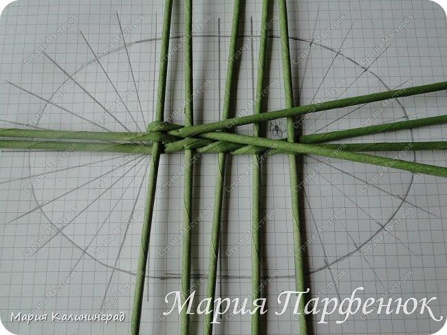 Мастер-класс Поделка изделие Плетение Овальное дно мастер класс Бумага газетная Трубочки бумажные фото 13