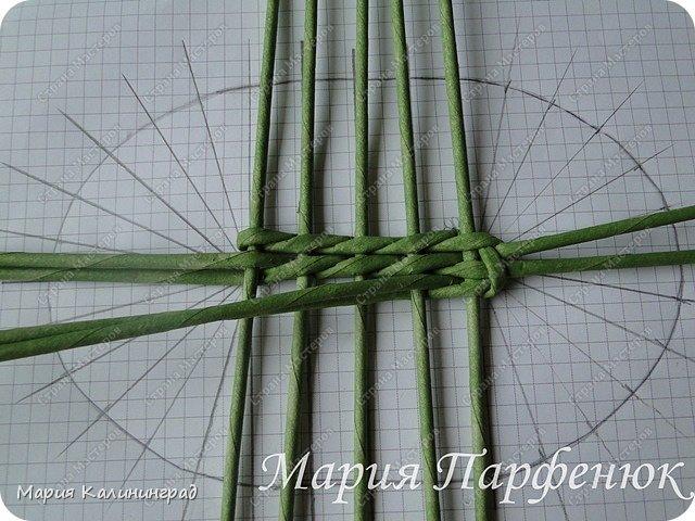 Мастер-класс Поделка изделие Плетение Овальное дно мастер класс Бумага газетная Трубочки бумажные фото 16