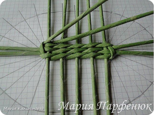 Мастер-класс Поделка изделие Плетение Овальное дно мастер класс Бумага газетная Трубочки бумажные фото 17
